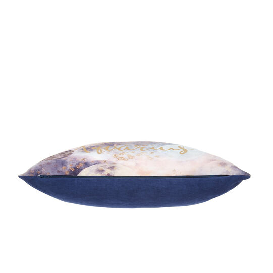 Cushion cover with Aquarius print 45x45cm