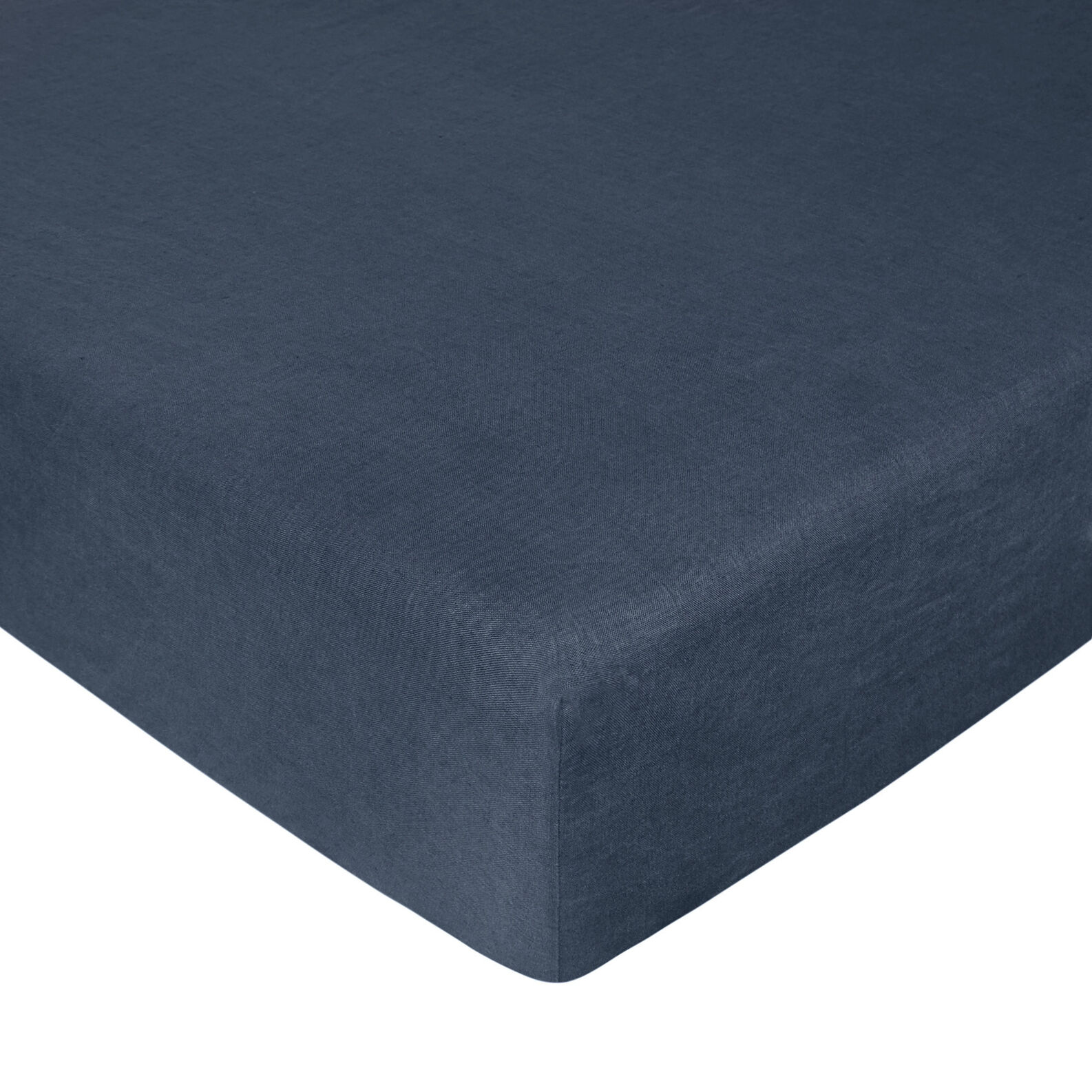 Interno 11 fitted sheet in high-quality linen