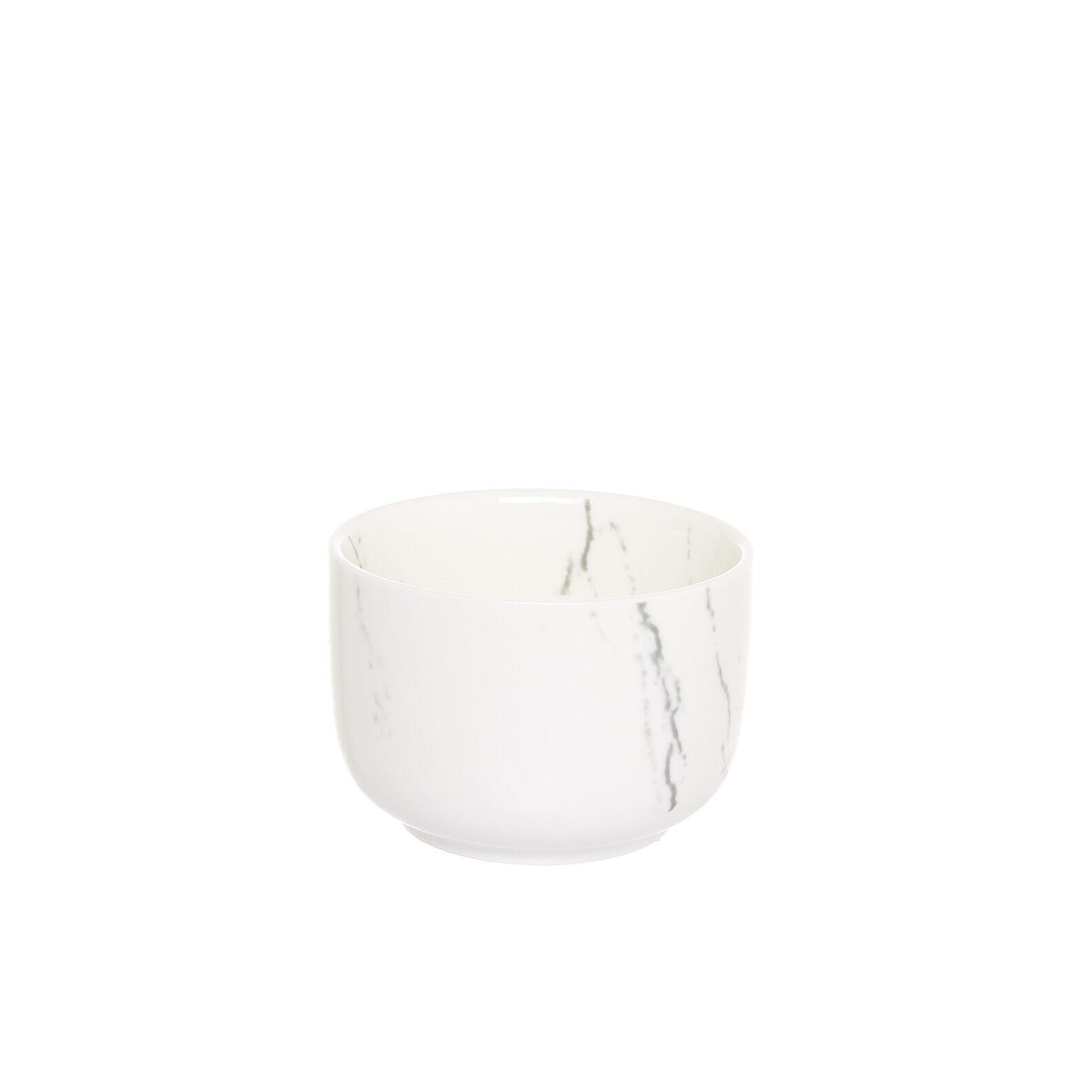Coppettina porcellana effetto marmo