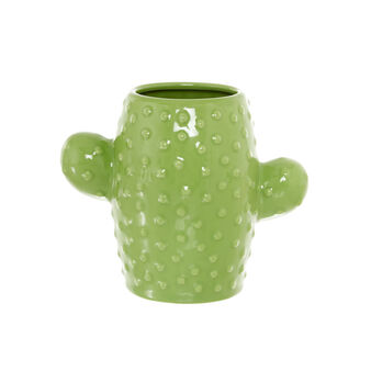 Cactus ceramic toothbrush holder