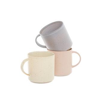Hard matt ceramic mug