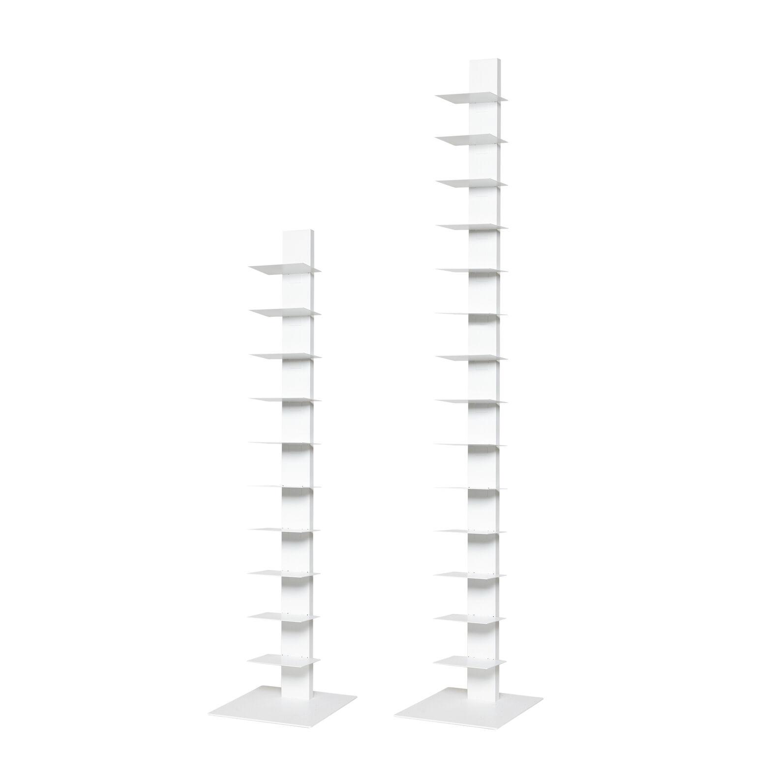Libreria in acciaio Sapiens h152cm