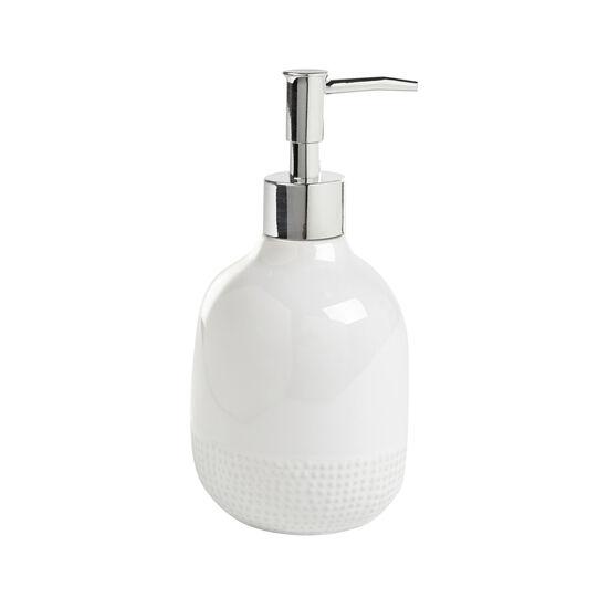 Dots ceramic soap dispenser