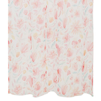 Small curtain with floral print