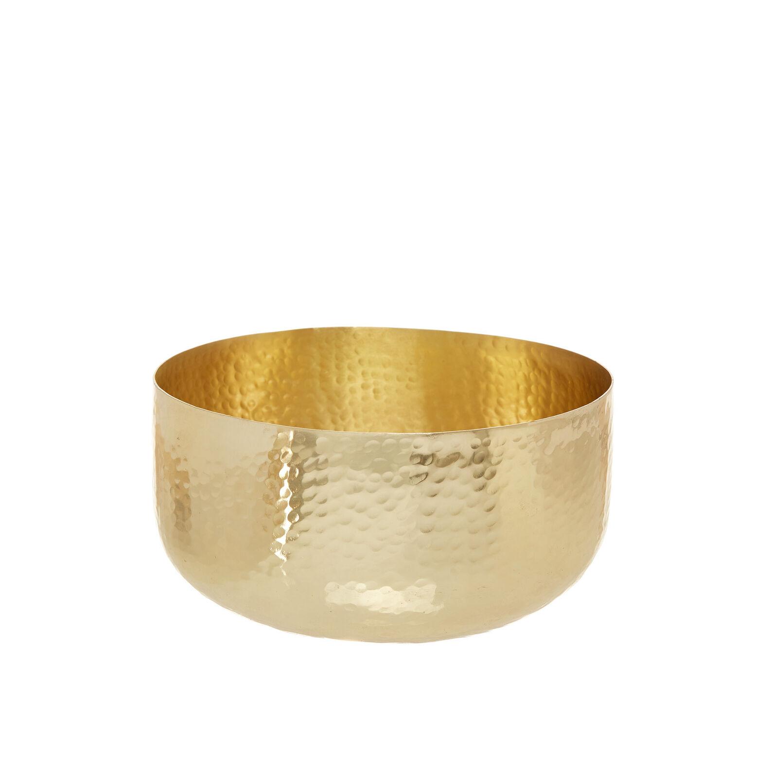 Textured-effect steel bowl
