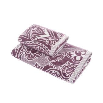 100% cotton velour towel with mandala motif