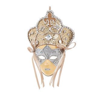Maschera decorativa rifinita a mano