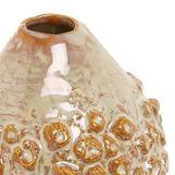 Handmade decorated ceramic vase