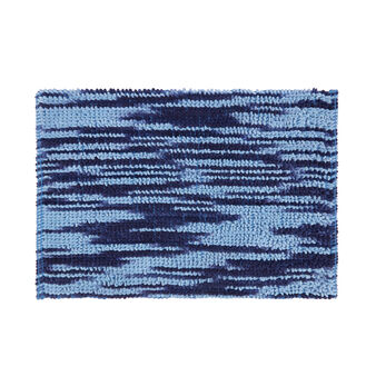 Melange cotton bath mat
