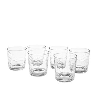 Set of 6 tumblers in Toros glass
