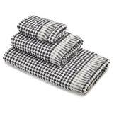 Asciugamano puro cotone trama scacchiera Thermae