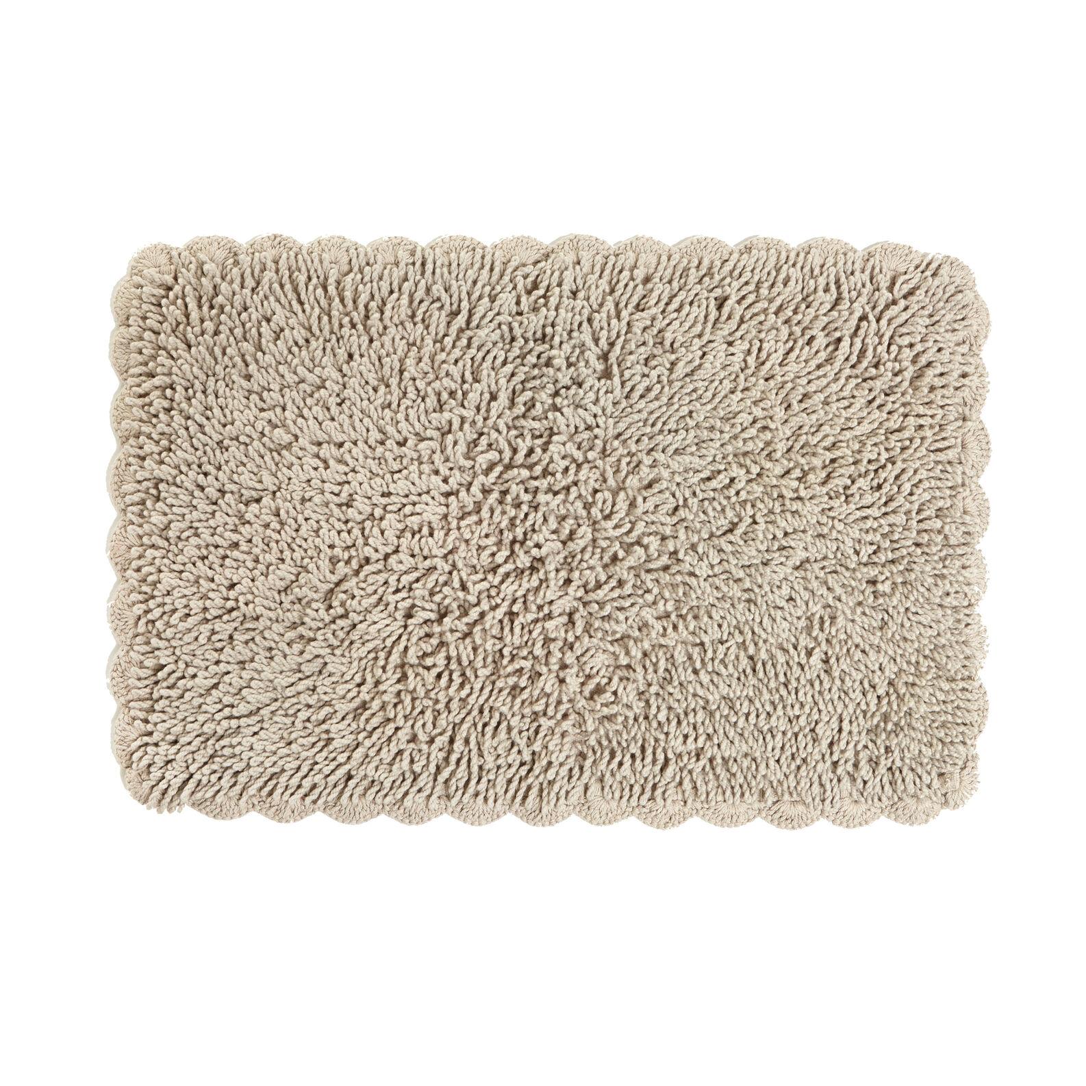 Tappeto bagno con crochet
