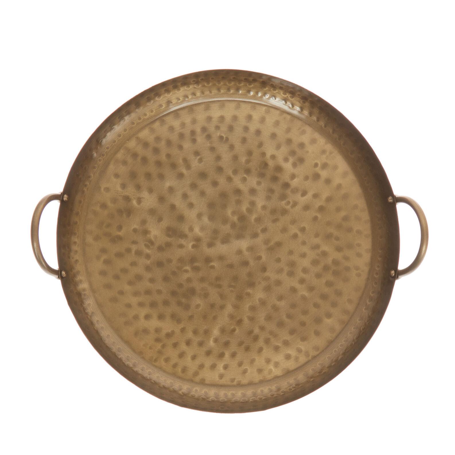 Textured iron tray