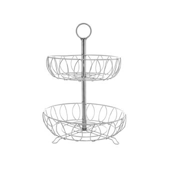 Steel wire fruit stand