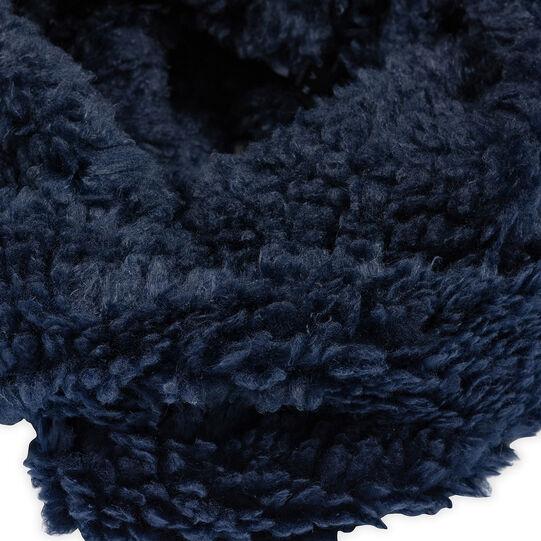 Koan fur-effect neck warmer