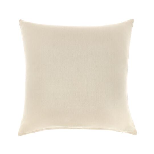 Solid colour cotton cushion
