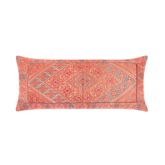 Cushion with ornamental motif decoration