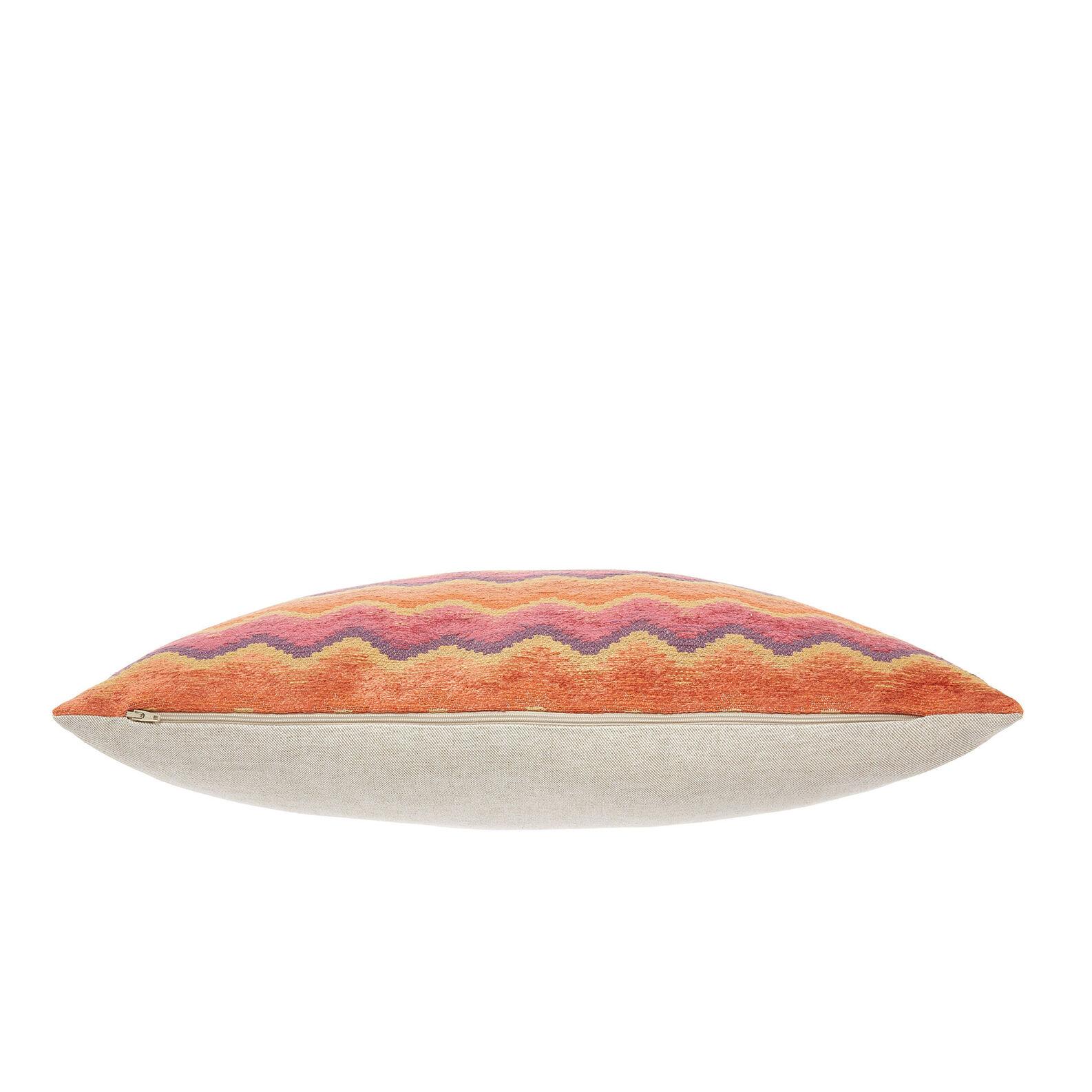 Jacquard zigzag cushion 35x55cm