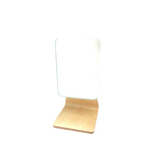 Specchio da bagno base in bamboo