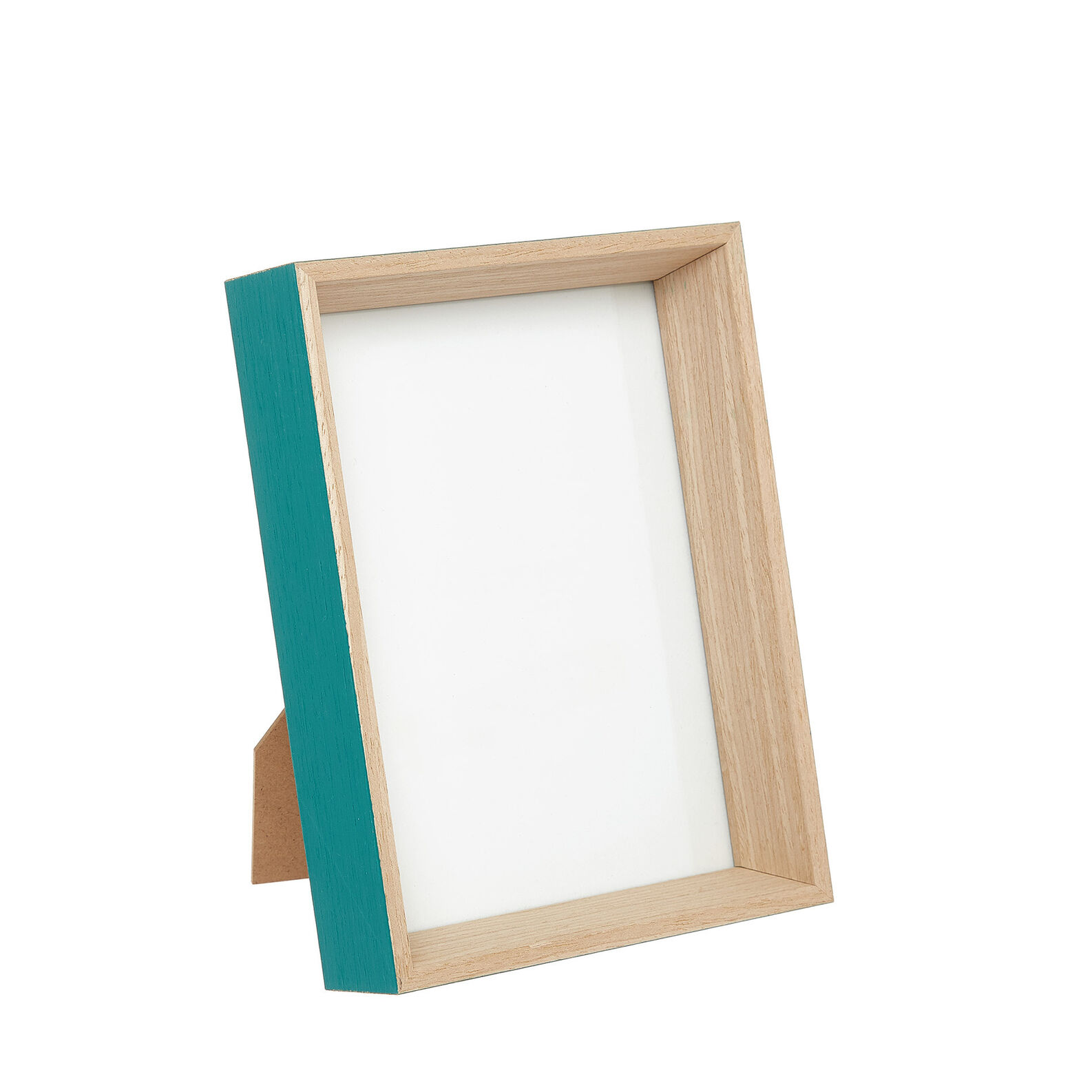 Wooden photo frame.
