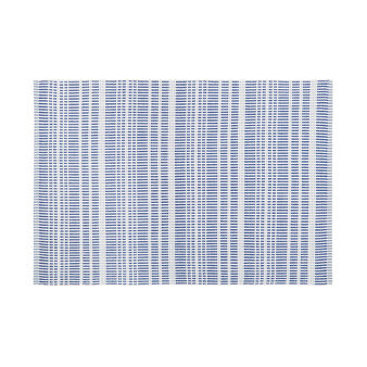 100% cotton striped table mat