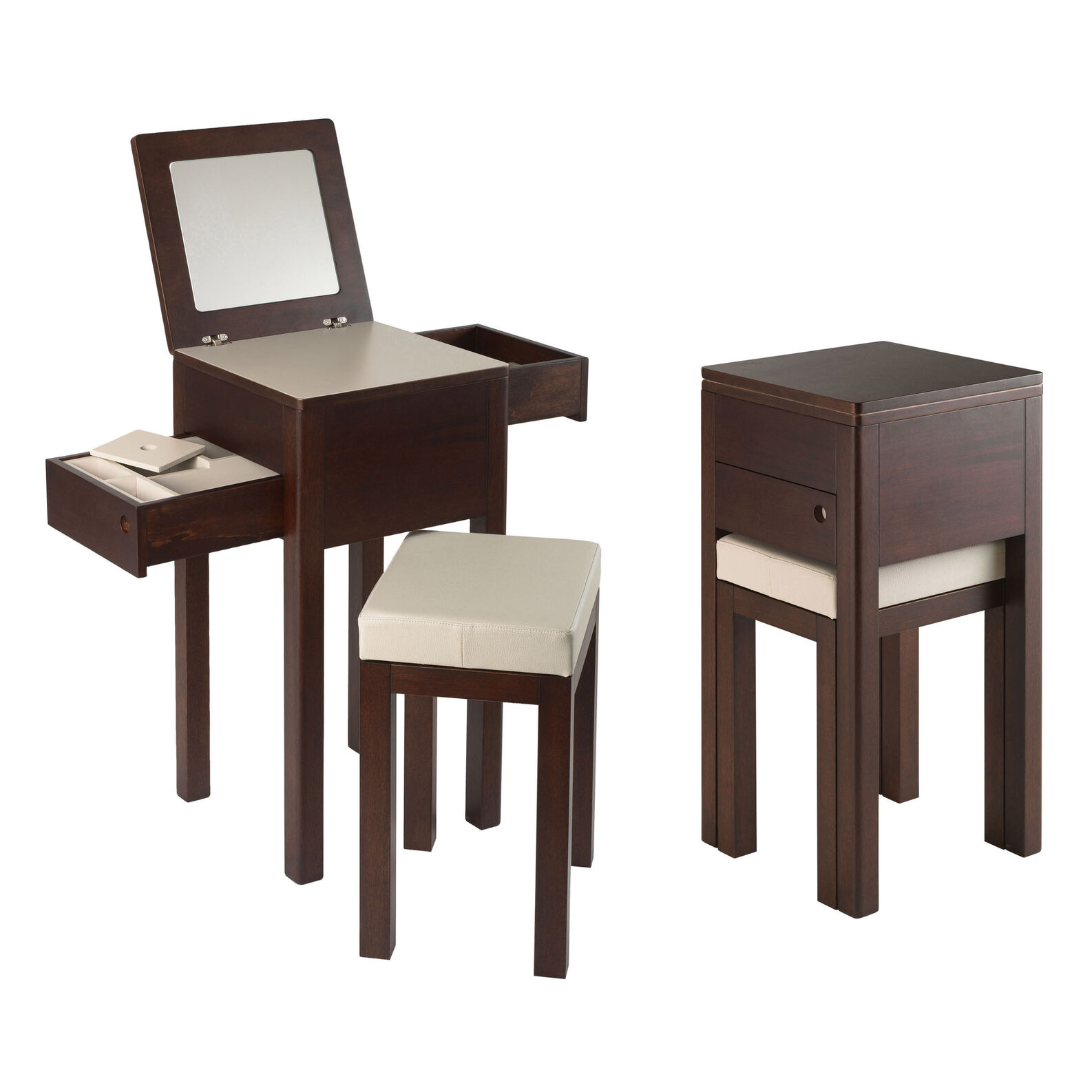 Eva dressing table and stool