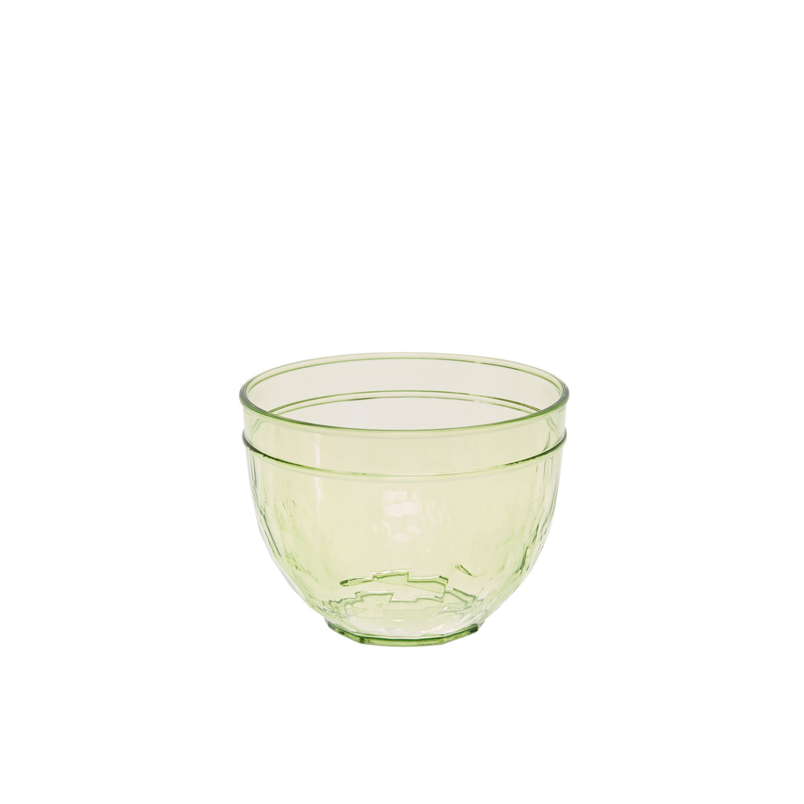 Small green plastic bowl