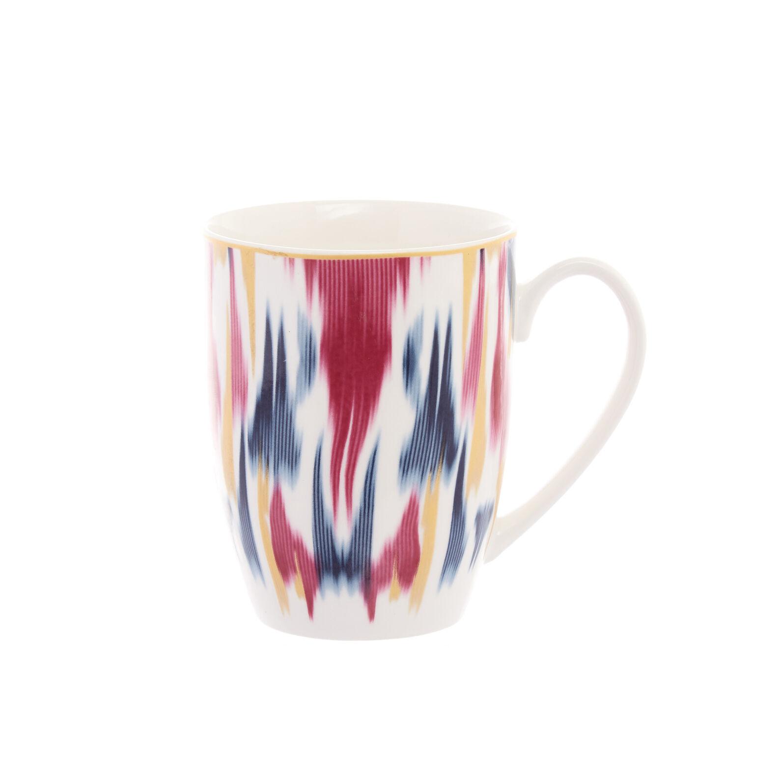 Mug new bone china motivo ikat