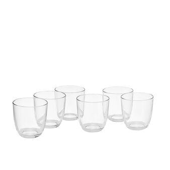 Set 6 bicchieri vetro Iris