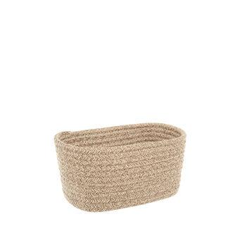 Rectangular rope basket