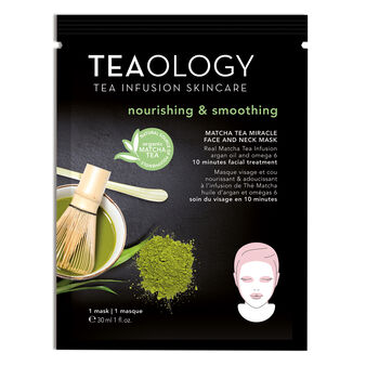 Matcha Tea Miracle Face and Neck Mask Nourishing & Smoothing 30 ml