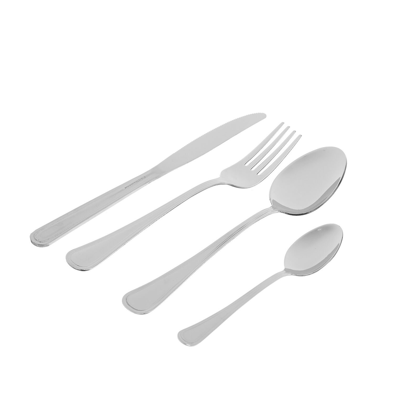24-piece Galles cutlery set in stainless steel
