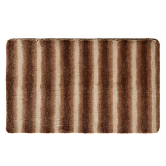 Synthetic fur mat