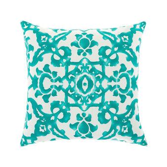 Cuscino cotone stampa medina