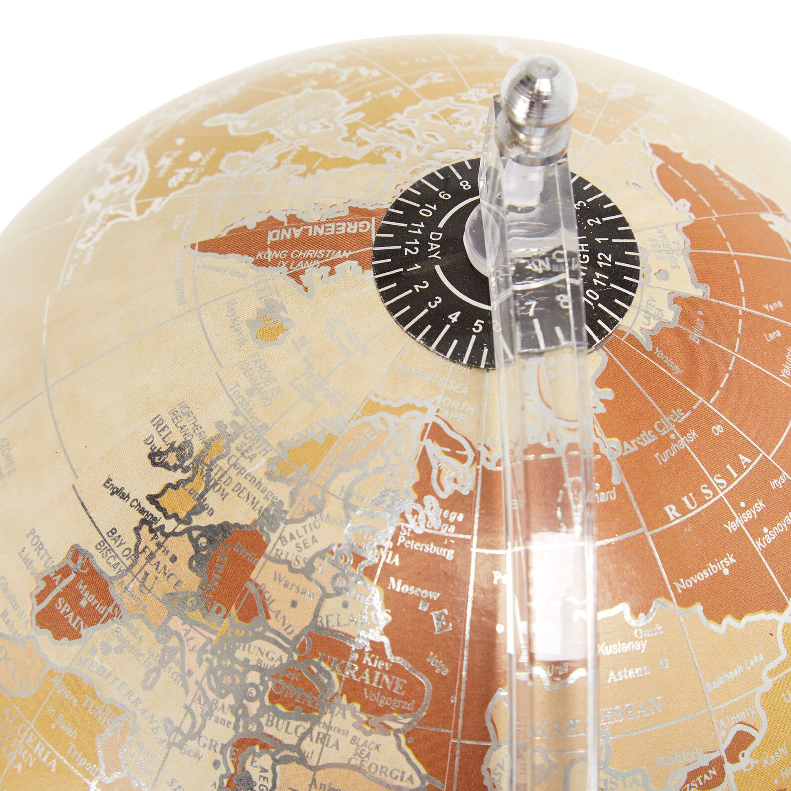 Decorative globe with stand