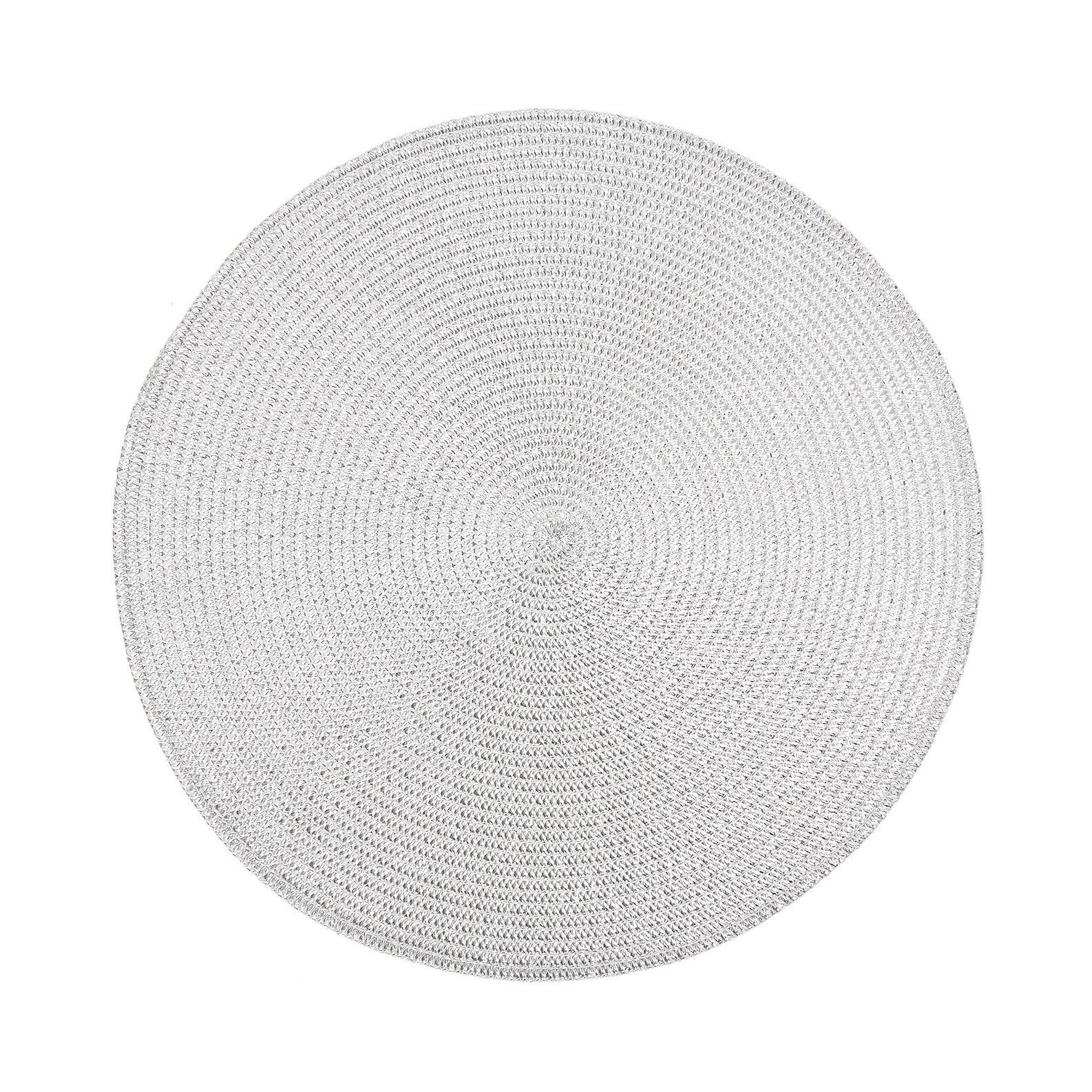Tovaglietta rotonda PVC intrecciata