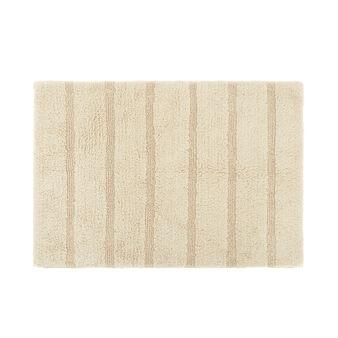 Solid colour 100% cotton bath mat