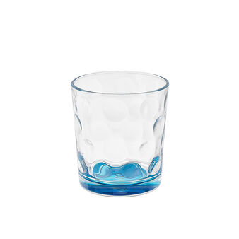 Space turquoise glass tumbler