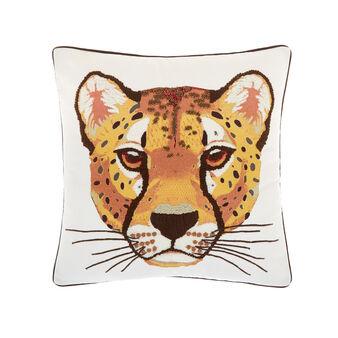 Cuscino decoro tigre 45x45cm