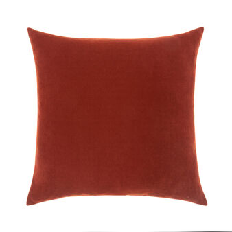 Solid colour blend cushion