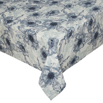100% cotton tablecloth with maxi flower