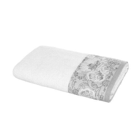 Portofino 100% cotton towel with jacquard edging