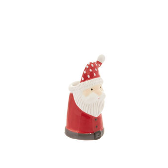 Ceramic toothpick holder with Father Christmas