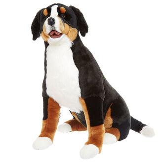 Large Bernese mountain dog soft toy