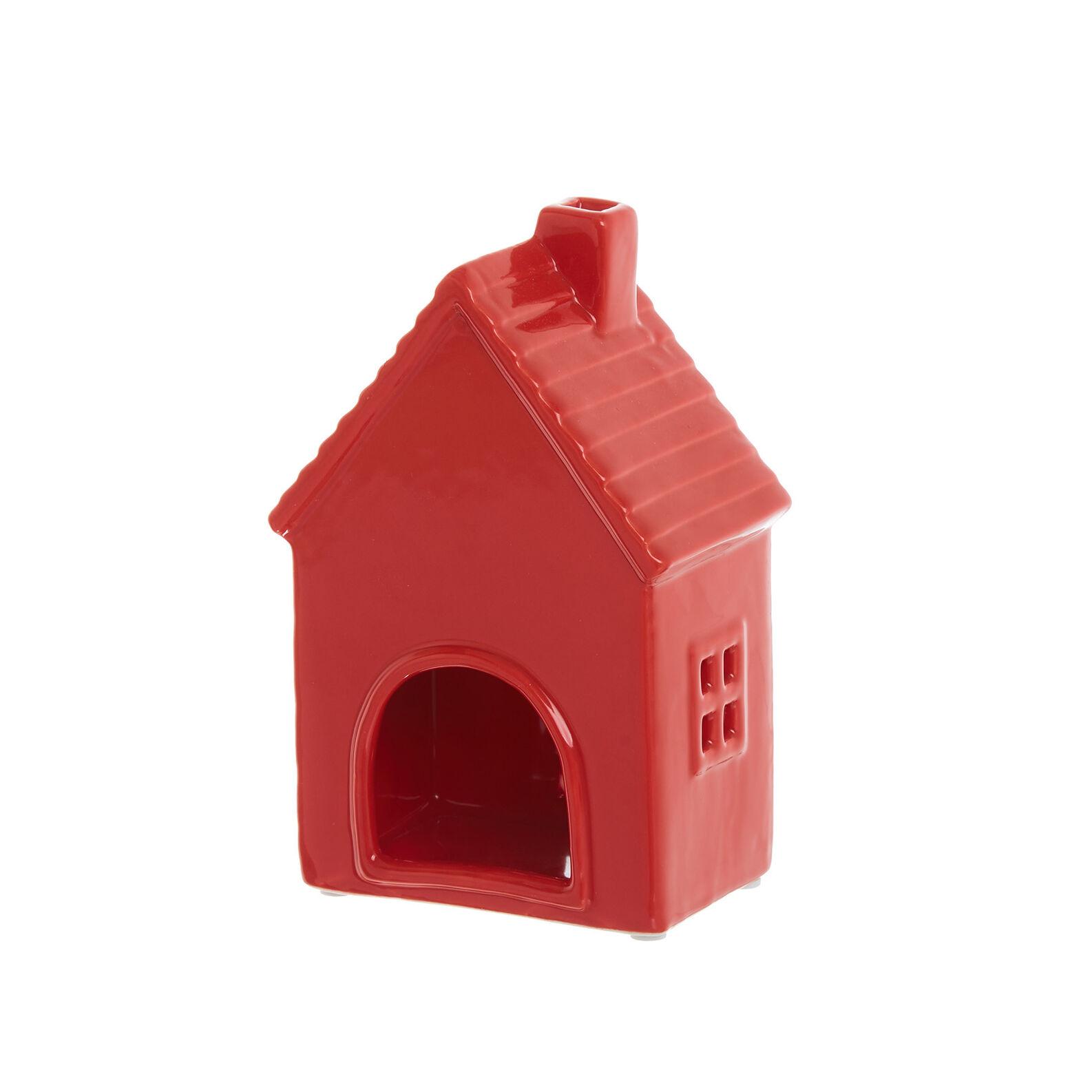 House-shaped porcelain lantern