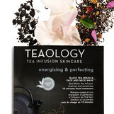 Teaology Black Tea Miracle Face and Neck Mask Energizzante e Perfezionatrice 30 ml
