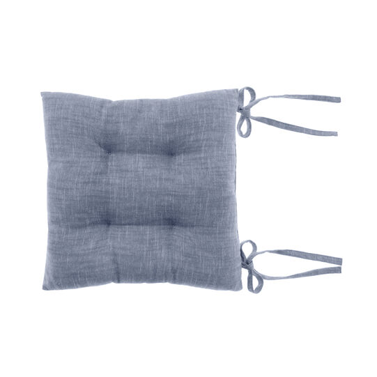 Cuscino da sedia cotone mélange fiammato