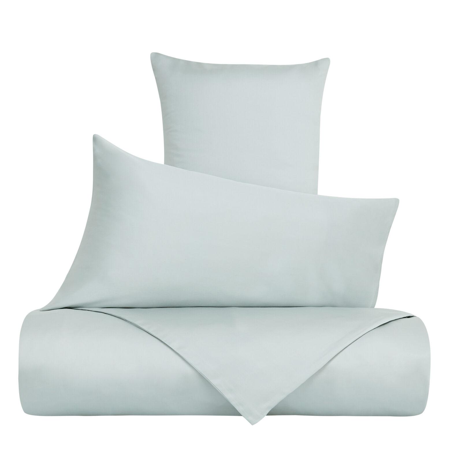 Solid colour pillowcase in Tencel satin