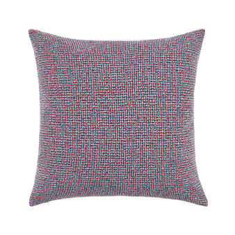 Cuscino da esterno motivo tweed 50x50cm