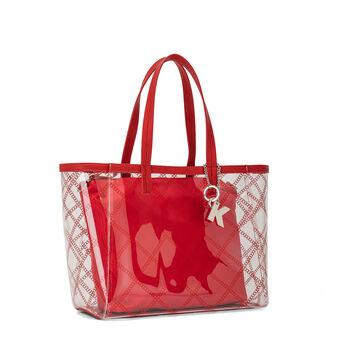 Shopping bag PVC trasparente Koan